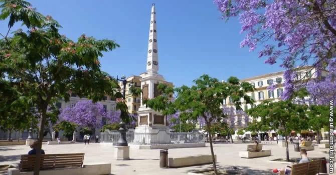 Plaza de la Merced, Málaga.