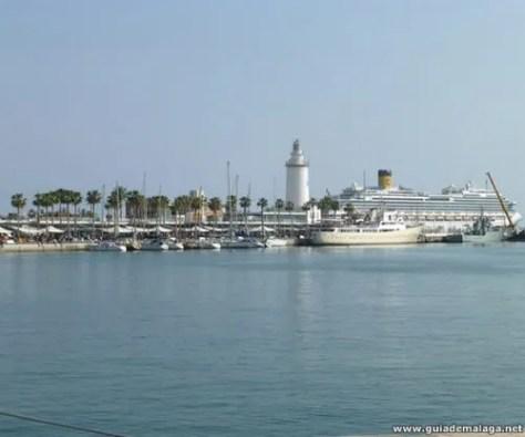 Muelle Uno, Faro y Puerto de Málaga.