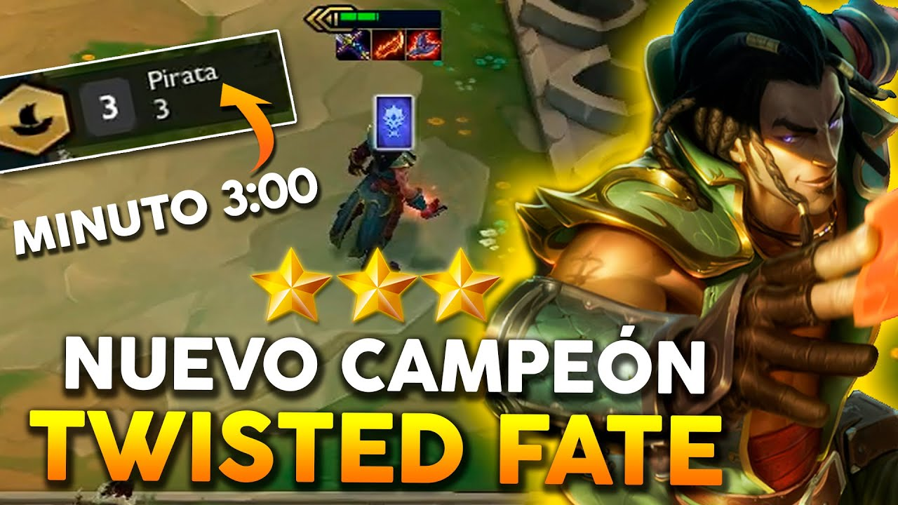 Twisted fate tft parche 9.14