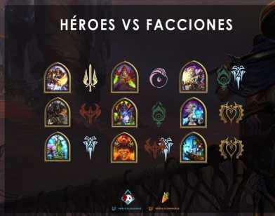 Heroes Vs Facciones DHR