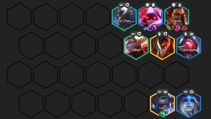 Darius 3 estrellas Protectores Celestiales TFT 10.13