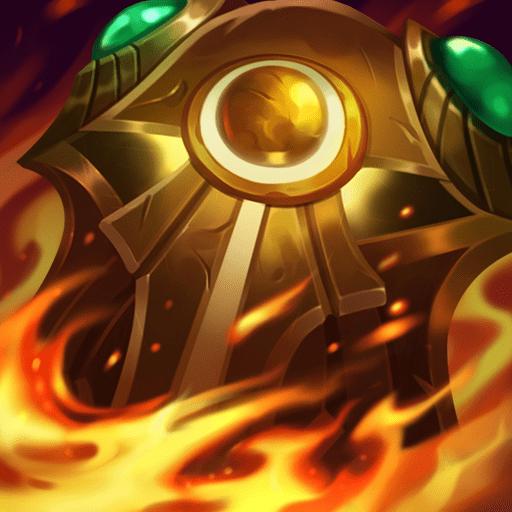 Egida de Fuego Solar objeto league of legends LOL