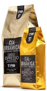 Café gourmet e orgânico da Cia Organica