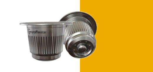 Cápsula de café recarregável compatível com máquina Nespresso