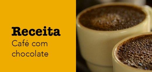 Receita de café com chocolate