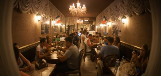 Interior do Café du Centre
