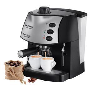 No Extra, cafeteira expresso Mondial pode ser encontrada por R$ 369,90.