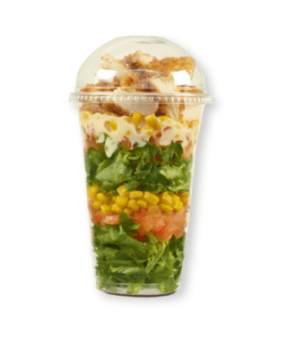 receita de salada no pote