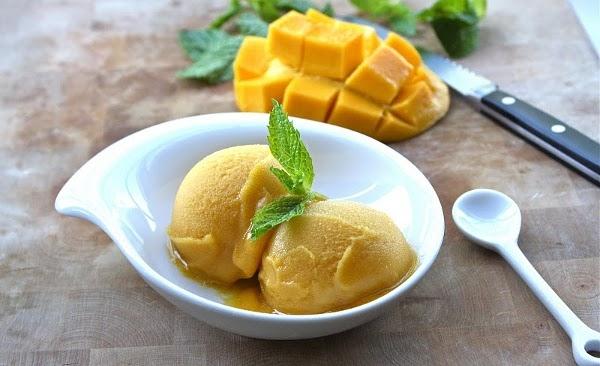 sorvete fit de manga