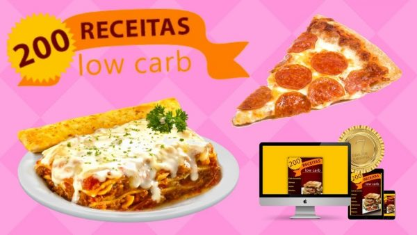 200 receitas Low carb