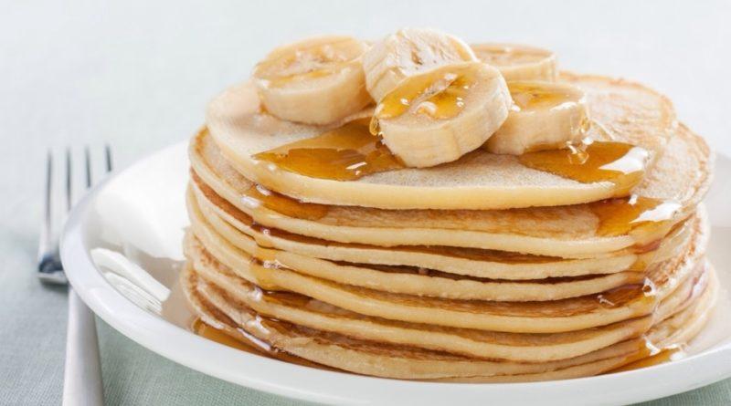como fazer panqueca fitReceita : Panqueca Fit com 2 ovos e banana