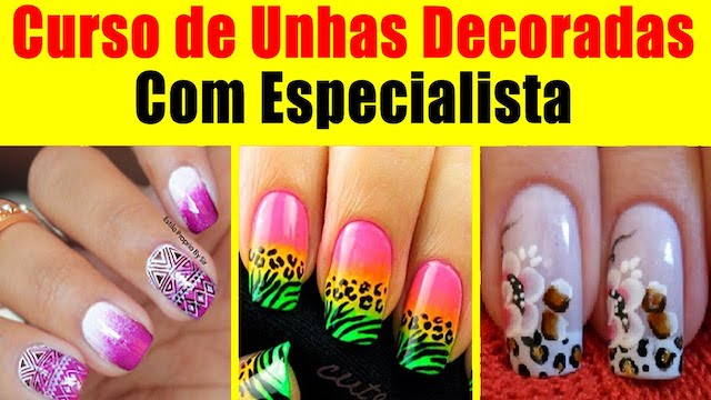 Unhas Decoradas para Copa do Mundo Feminina