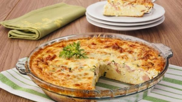 Omelete de forno Low carb