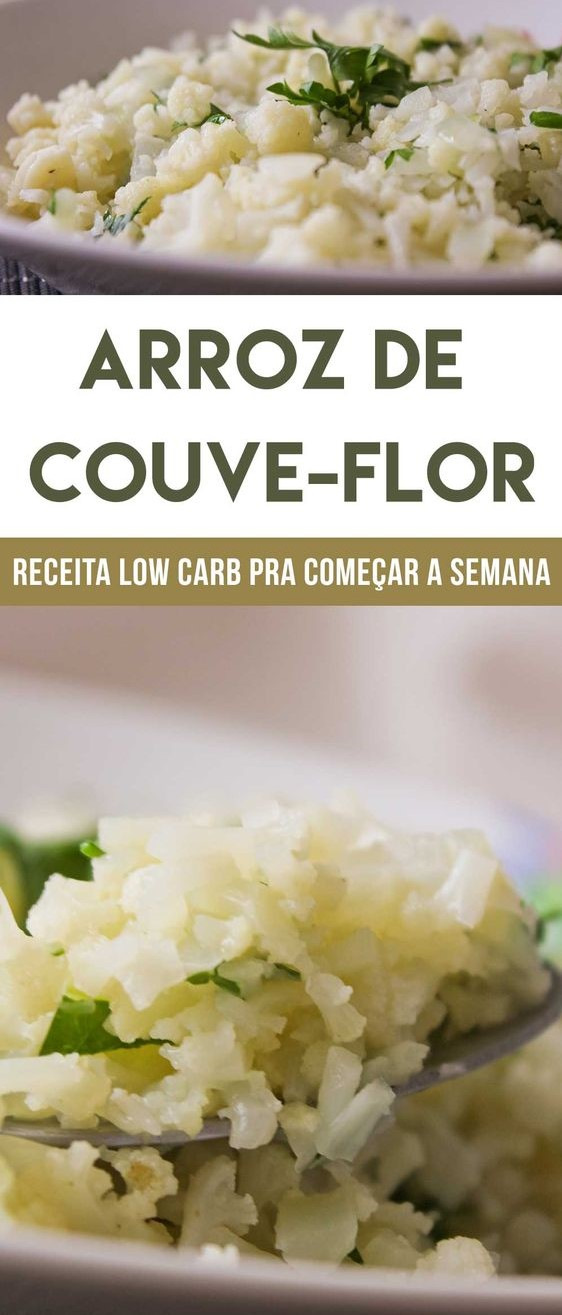 arroz de couve-flow low carb