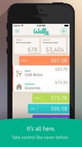 Finanças para celular: Wally