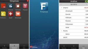 Finanças para celular: finance