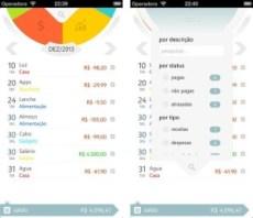 Finanças para celular: money care