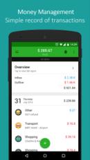 Finanças para celular: money lover
