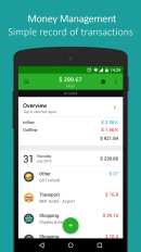 Finanças para celular: money lover