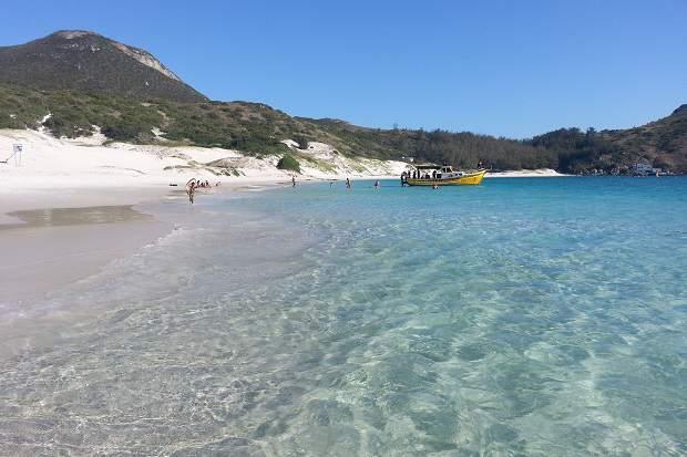 Melhores praias do Brasil: Arraial do Cabo - Praia do Farol - Rio de Janeiro