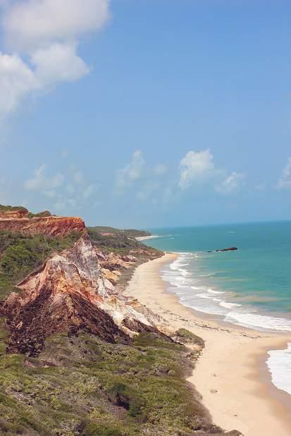 Melhores praias do Brasil: Conde - Praia de Tambaba - Paraíba