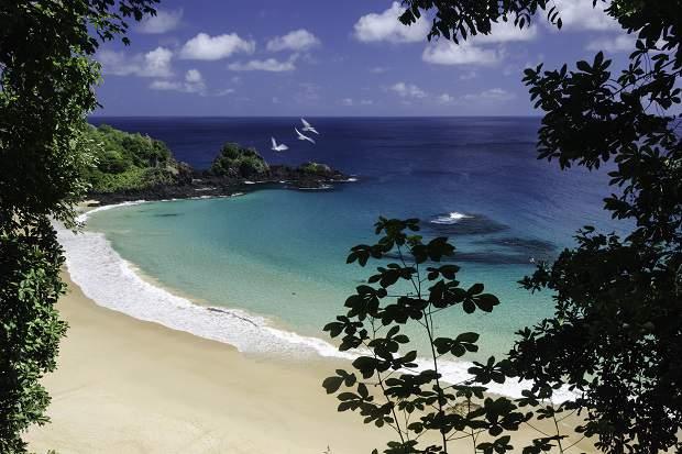 Melhores praias do Brasil: Fernando de Noronha - Praia do Sancho - Pernambuco
