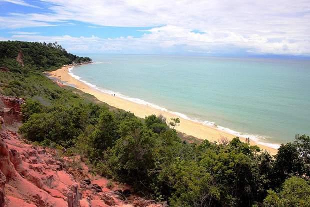 Melhores praias do Brasil: Porto Seguro - Arraial d'Ajuda - Praia de Pitinga - Bahia