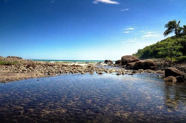 Melhores praias do Brasil: Ilhabela - Praia do Bonete - São Paulo