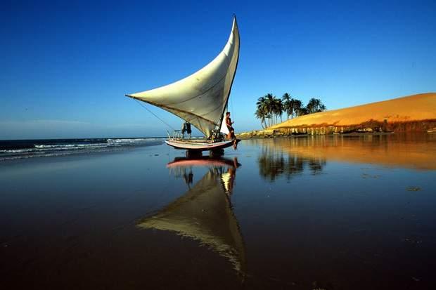 Melhores praias do Brasil: Paraipaba - Praia da Lagoinha - Ceará
