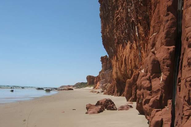 Melhores praias do Brasil: Icapuí - Praia da Redonda - Ceará