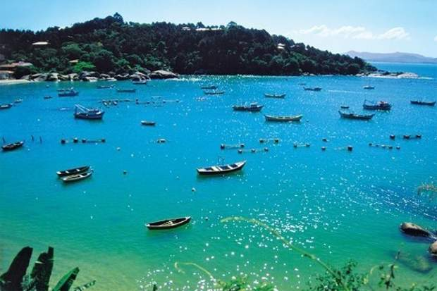 Melhores praias do Brasil: Governador Celso Ramos - Praia de Ganchos de Fora - Santa Catarina