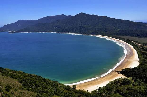 Melhores praias do Brasil: Ilha Grande - Praia Lopes Mendes - Rio de Janeiro