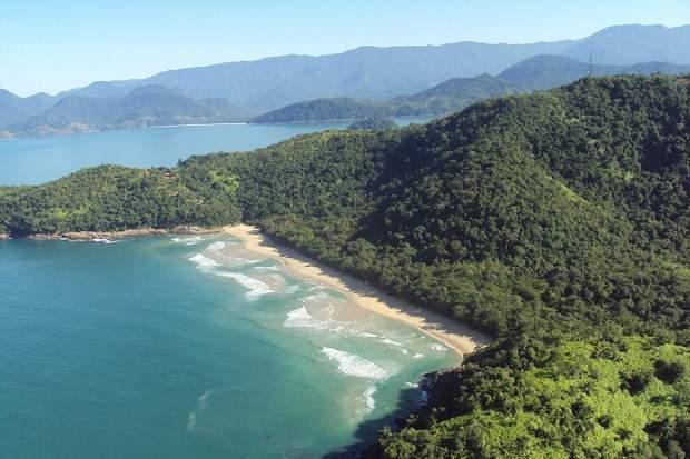 Melhores praias do Brasil: Ubatuba - Praia Brava da Almada - São Paulo