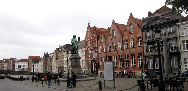 Principais pontos turísticos de Bruges, na Bélgica!
