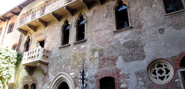 Romeu e Julieta em Verona, na Itália!