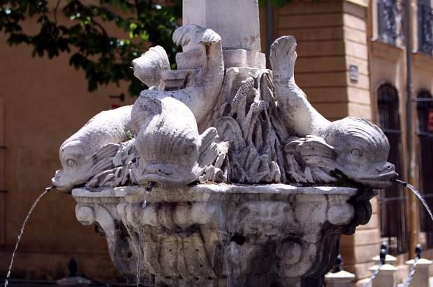 As fontes de Aix-en-Provence
