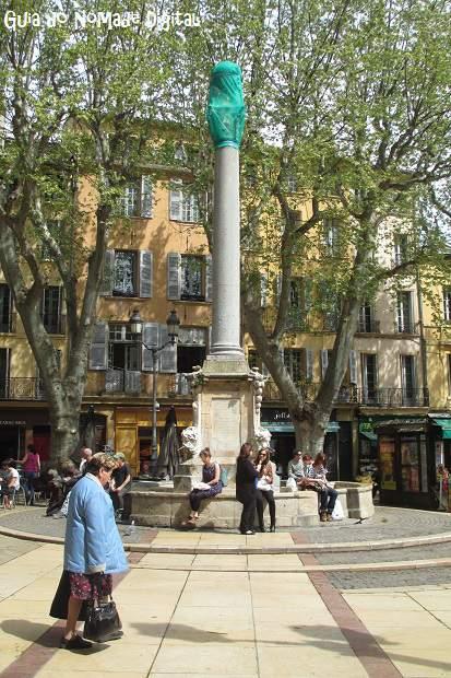 As fontes de Aix-en-Provence: riqueza e charme na Provença!