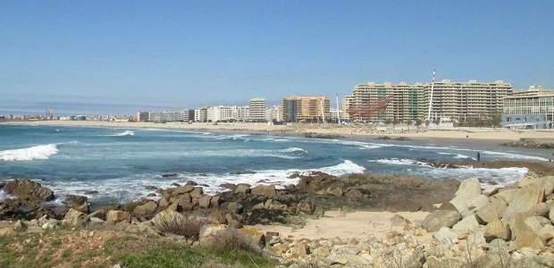 Praia de Matosinhos, em Porto: o verão em Portugal!