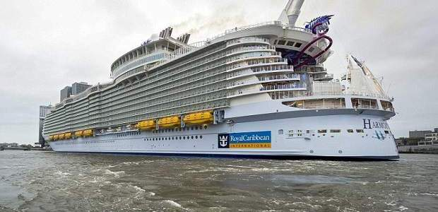 Maior navio do mundo: Harmony of the Seas