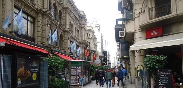 Rua Florida Buenos Aires: Calle Florida!