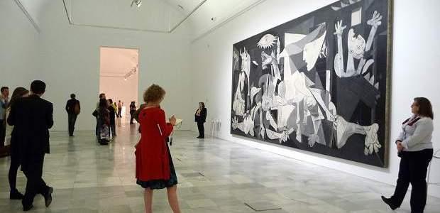 Museu Reina Sofia: Guernica em Madrid!