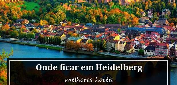 Onde ficar em Heidelberg, Alemanha? Dicas dos melhores hotéis