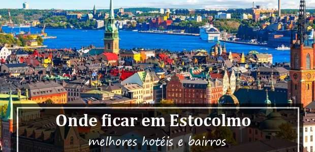 Onde ficar em Estocolmo, Suécia? Hotéis em Estocolmo e Bairros!