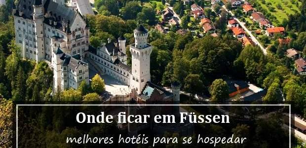 Onde ficar em Füssen, Alemanha? Hotéis para visitar o Castelo da Cinderela