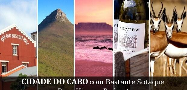 Cidade do Cabo com Bastante Sotaque: Papo Viagem Podcast 060