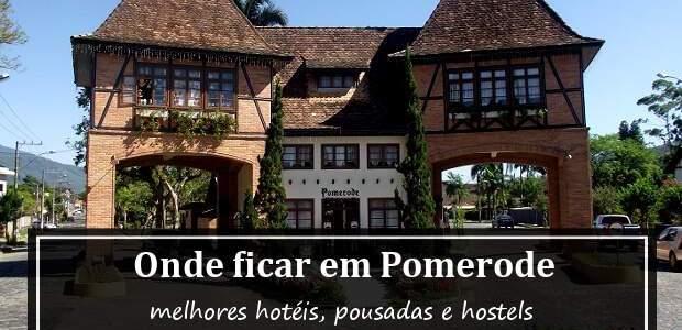 Onde ficar em Pomerode? Hotéis e Pousadas em Pomerode!