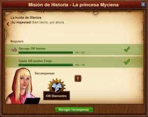 misiones forge of empires