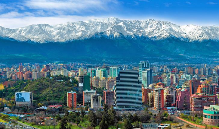 Vuelos de Caracas a Santiago de Chile desde 395