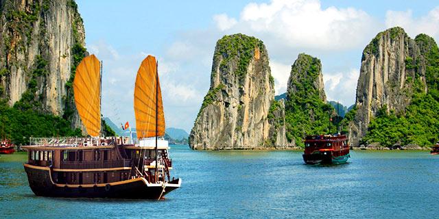 Vuelos desde Madrid o Barcelona a Vietnam por 418 euros ida y vuelta.
