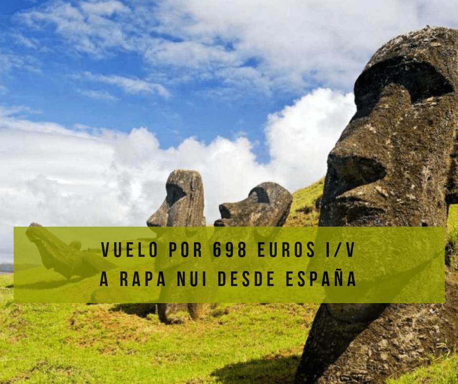 Isla de Pascua por 698 euros ida y vuelta